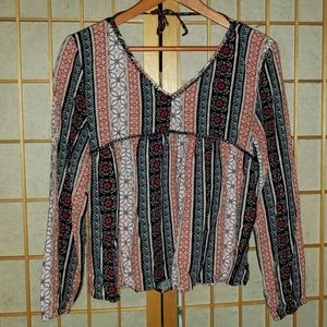 Abercrombie boho blouse